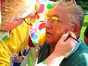 Phil face painting