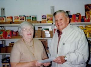 WCU Matching Funds Help St. John's Food Pantry
